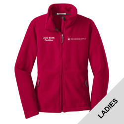 L217 - P123 - PTAC Logo - EMB - PTAC Ladies Fleece Jacket