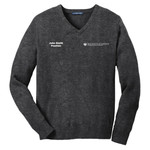 SW300 - EMB - V-Neck Sweater