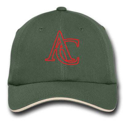 P123 - C2.5 - Emb - C838 - Adventure Camp Cap with Red AC Logo