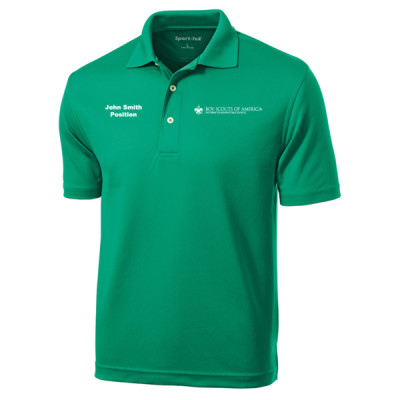 P123 - E010 - Logo 23 - Emb - K469 - Wicking Polo